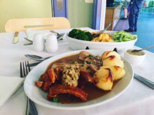 Shropshire Hills Cafe Sunday Lunch