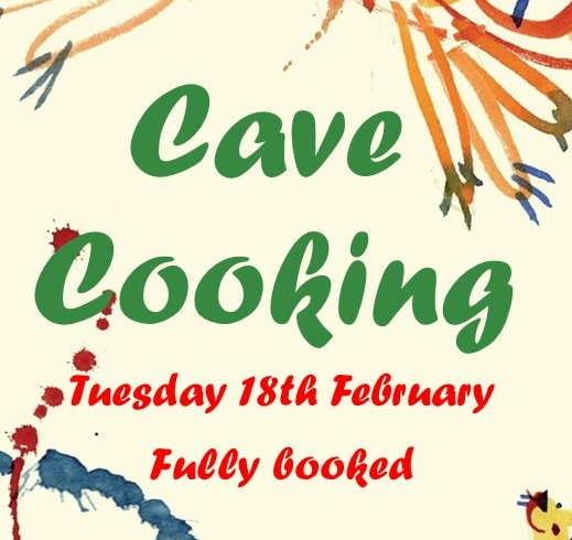 Cave Cooking – Fully Booked